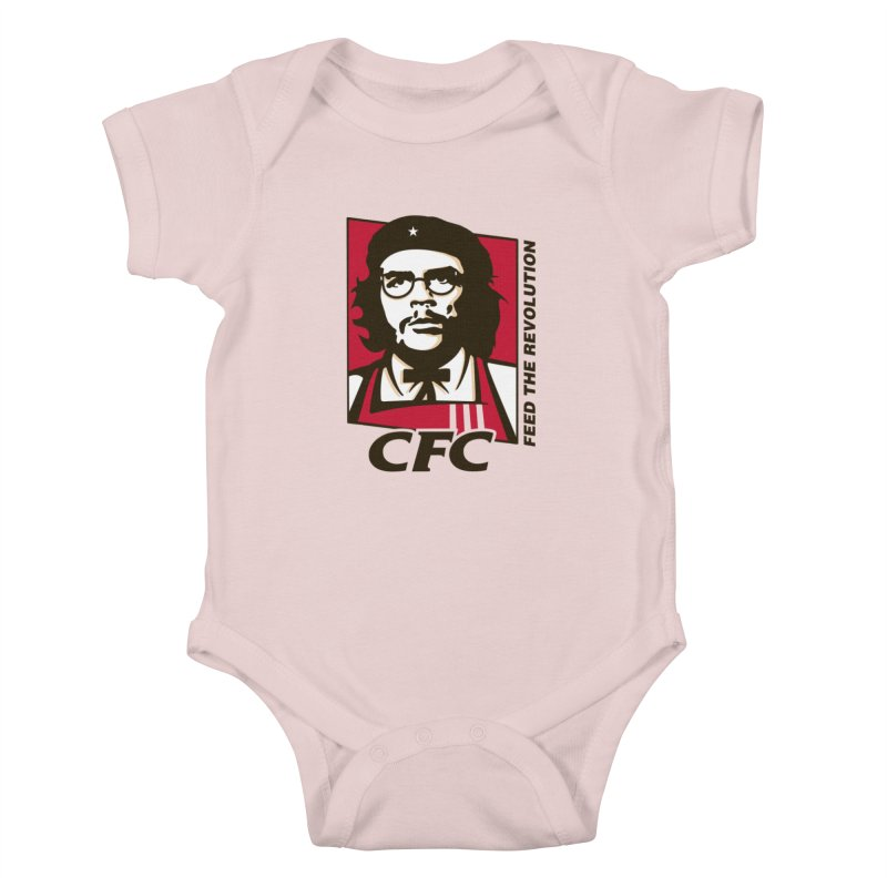 Che's Fried Chicken Kids Baby Bodysuit by ferg's Artist Shop