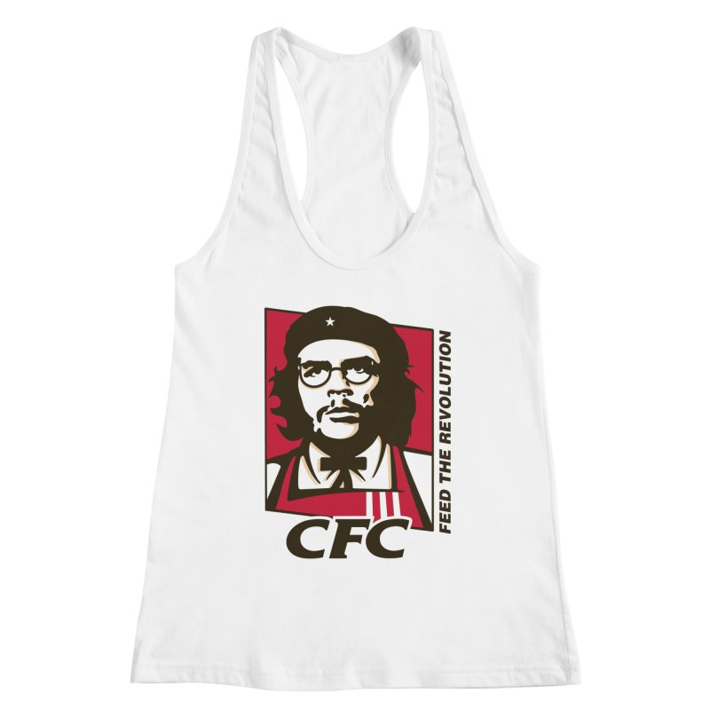 Che's Fried Chicken Women's Racerback Tank by ferg's Artist Shop