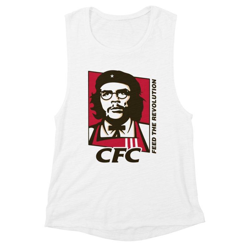 Che's Fried Chicken Women's Muscle Tank by ferg's Artist Shop