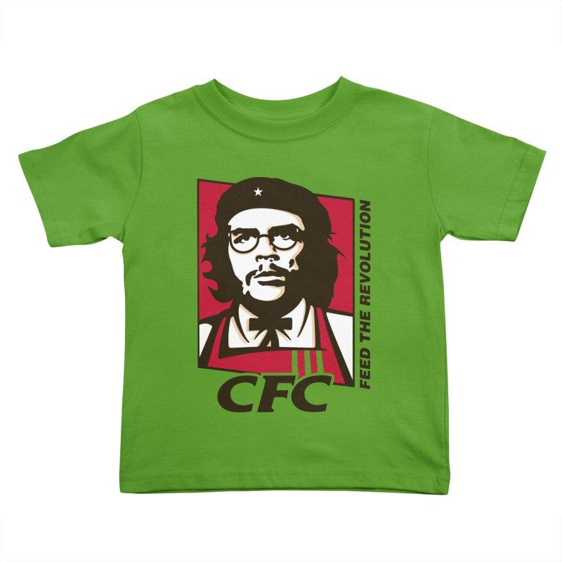 Che's Fried Chicken Kids Toddler T-Shirt by ferg's Artist Shop