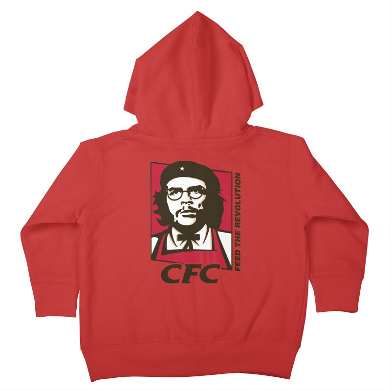 Che's Fried Chicken Kids Toddler Zip-Up Hoody by ferg's Artist Shop