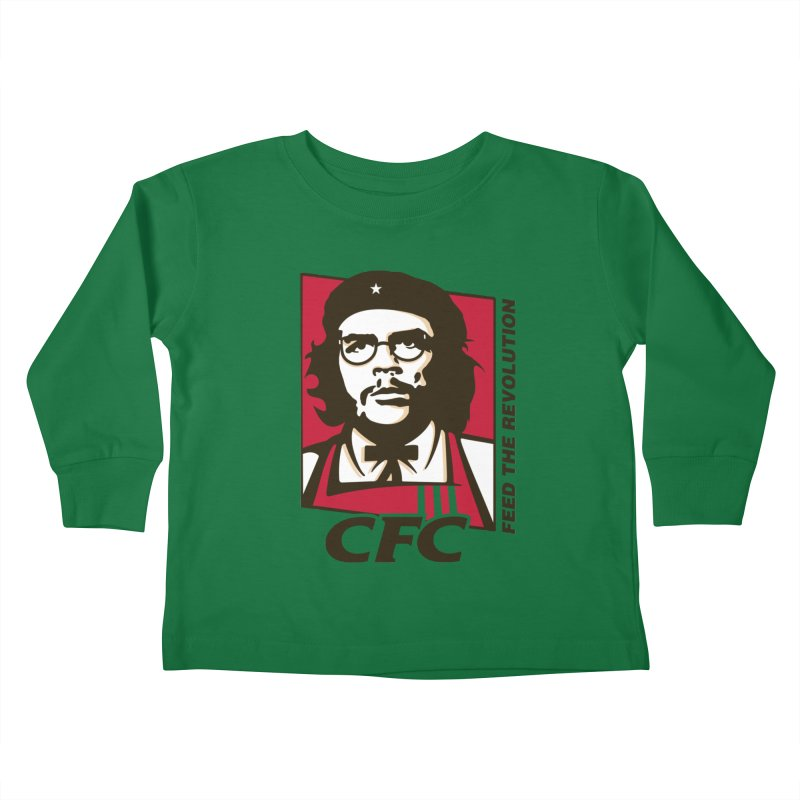 Che's Fried Chicken Kids Toddler Longsleeve T-Shirt by ferg's Artist Shop