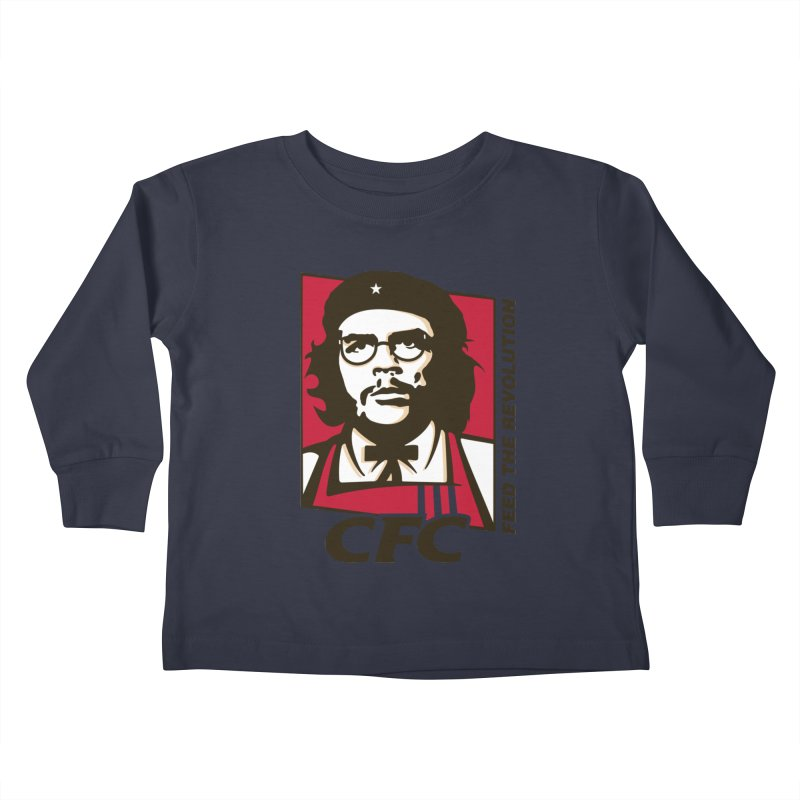 Che's Fried Chicken Kids Toddler Longsleeve T-Shirt by ferg's Artist Shop