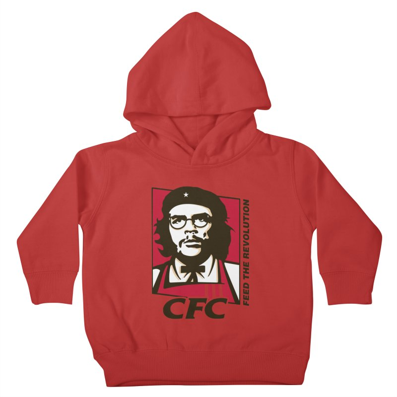 Che's Fried Chicken Kids Toddler Pullover Hoody by ferg's Artist Shop
