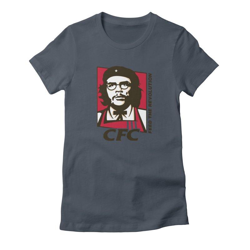 Che's Fried Chicken Women's T-Shirt by ferg's Artist Shop