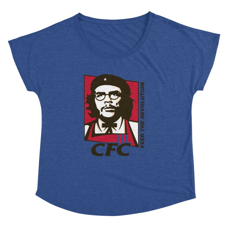 Che's Fried Chicken Women's Dolman Scoop Neck by ferg's Artist Shop