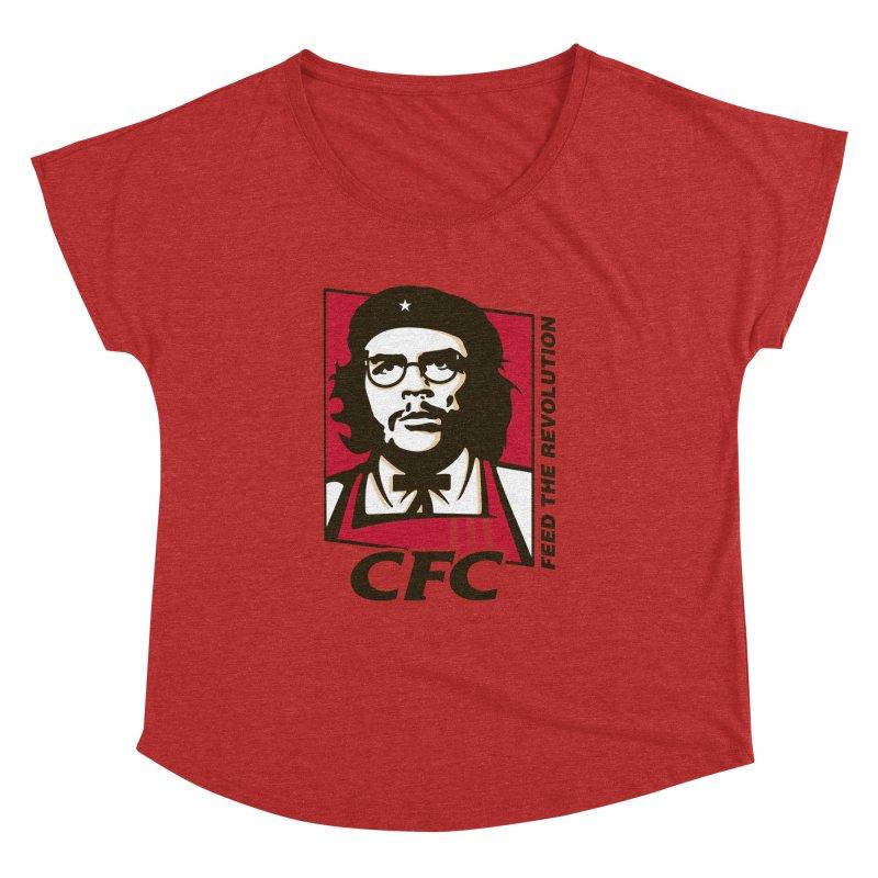 Che's Fried Chicken Women's Dolman by ferg's Artist Shop