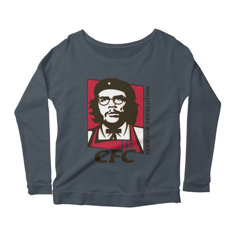 Che's Fried Chicken Women's Scoop Neck Longsleeve T-Shirt by ferg's Artist Shop