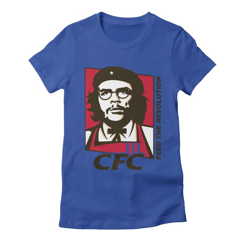 Che's Fried Chicken Women's Fitted T-Shirt by ferg's Artist Shop