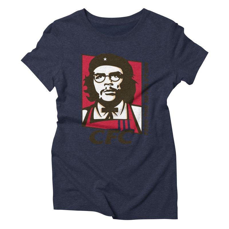 Che's Fried Chicken Women's Triblend T-Shirt by ferg's Artist Shop