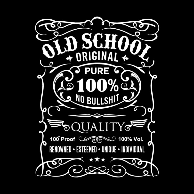 Old School by ferg's Artist Shop
