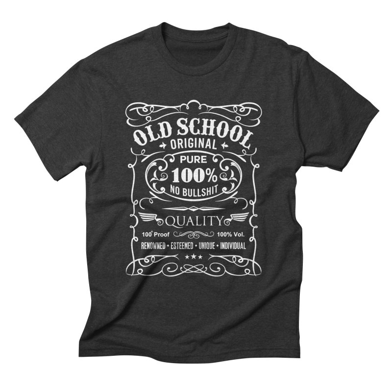 Old School Men's T-Shirt by ferg's Artist Shop
