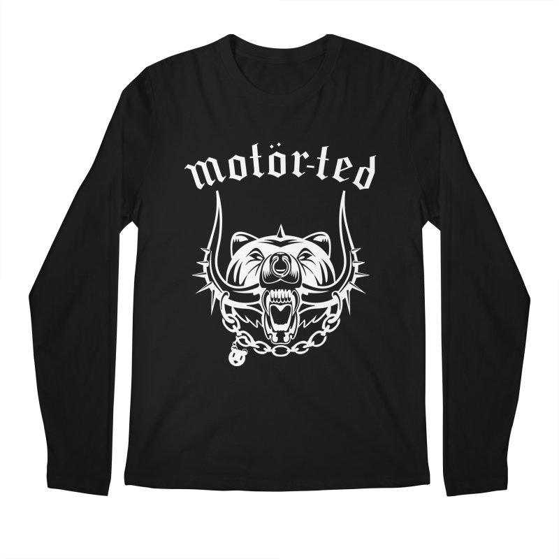 Motor Ted Men's Regular Longsleeve T-Shirt by ferg's Artist Shop