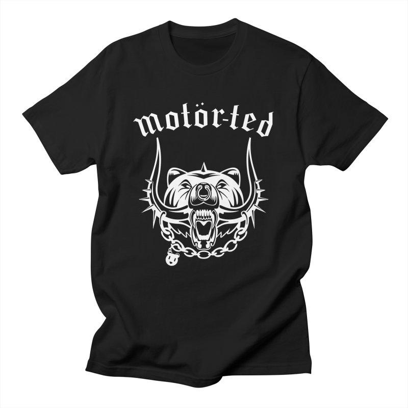 Motor Ted Men's T-Shirt by ferg's Artist Shop