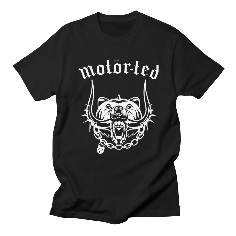 Motor Ted Men's Regular T-Shirt by ferg's Artist Shop