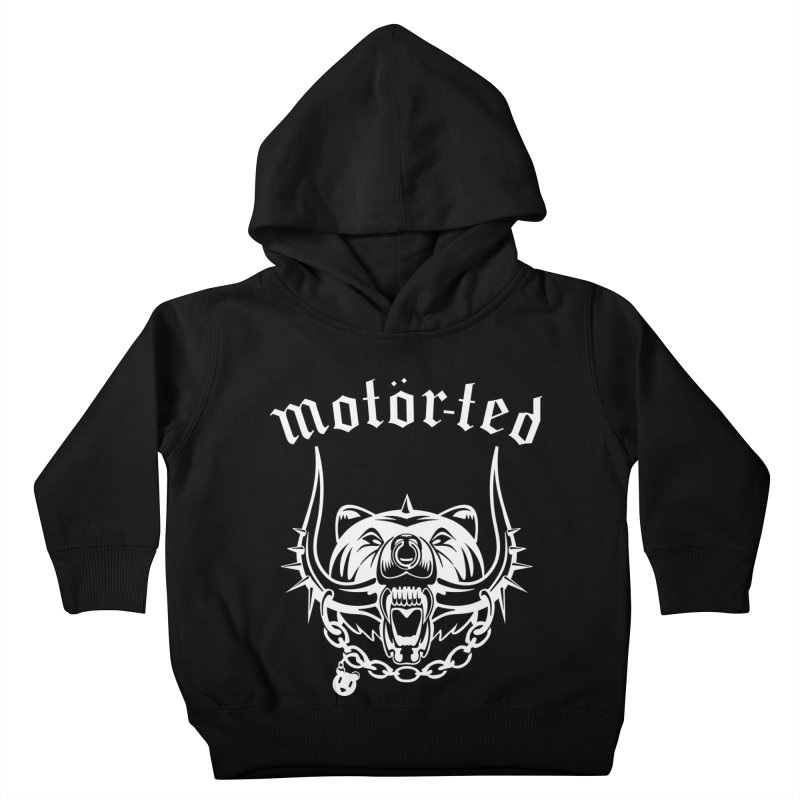 Motor Ted Kids Toddler Pullover Hoody by ferg's Artist Shop