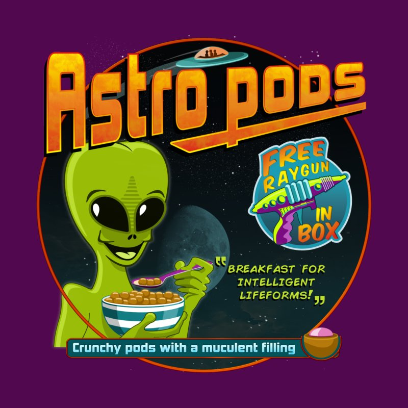 Astropods Women's Scoop Neck by ferg's Artist Shop