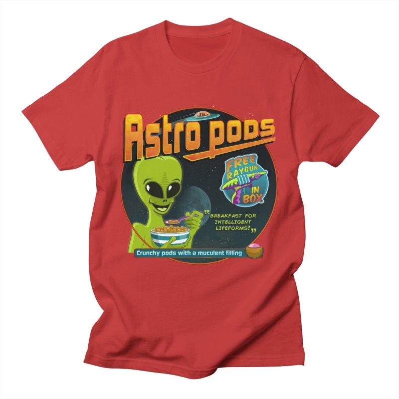 Astropods Men's T-Shirt by ferg's Artist Shop