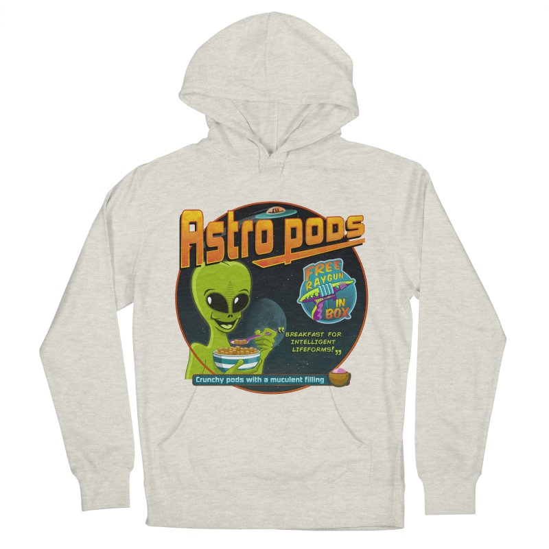 Astropods Women's French Terry Pullover Hoody by ferg's Artist Shop