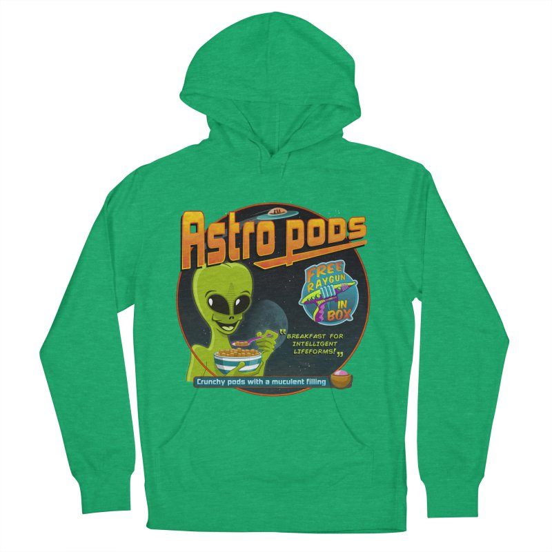 Astropods Men's French Terry Pullover Hoody by ferg's Artist Shop