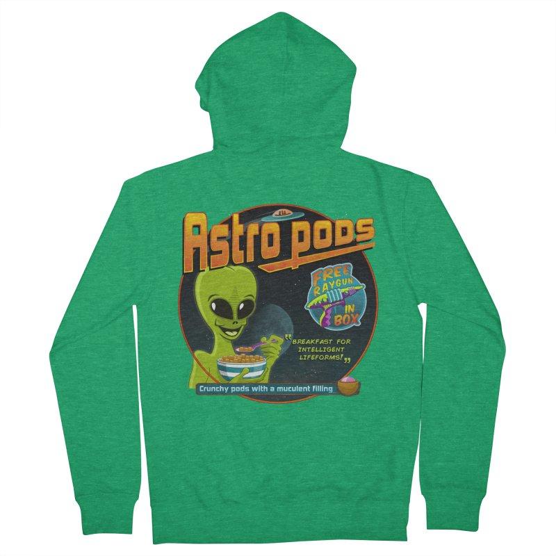 Astropods Women's Zip-Up Hoody by ferg's Artist Shop