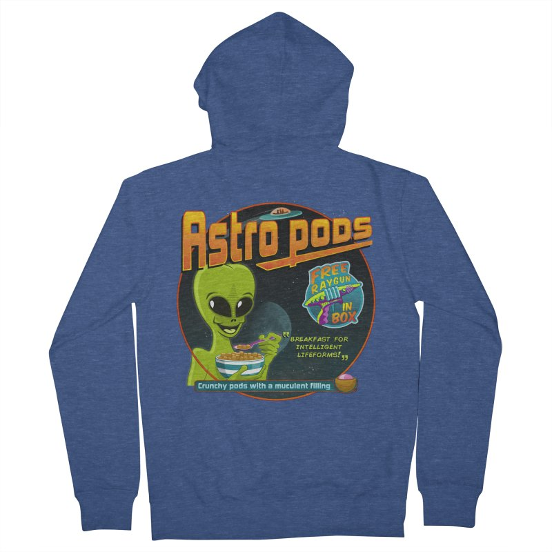 Astropods Women's French Terry Zip-Up Hoody by ferg's Artist Shop