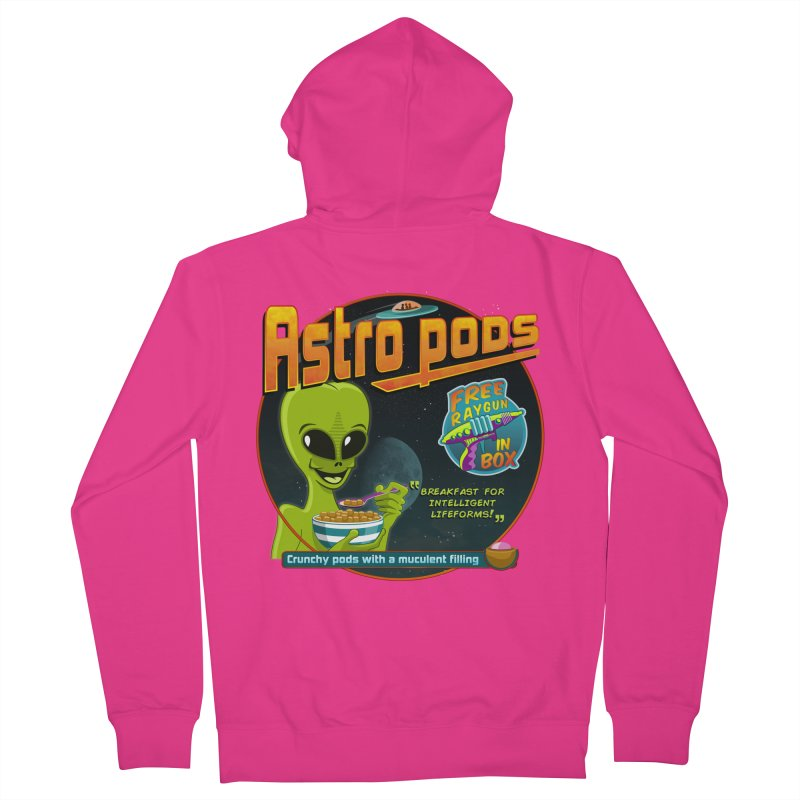 Astropods Men's Zip-Up Hoody by ferg's Artist Shop