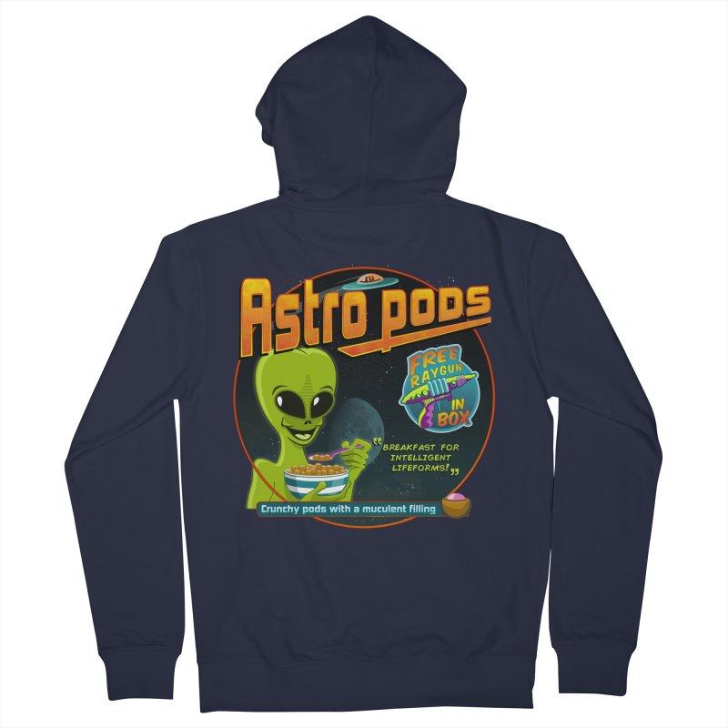 Astropods Men's Zip-Up Hoody by ferg's Artist Shop
