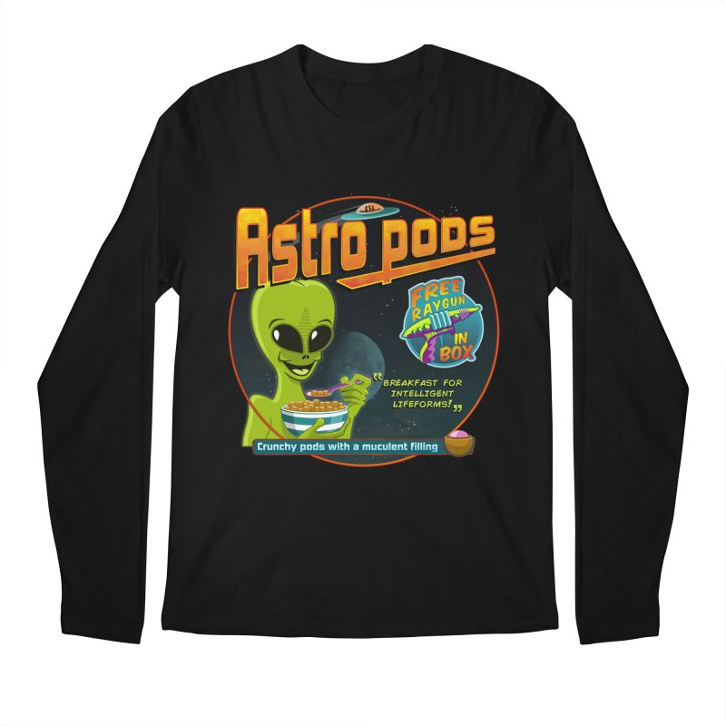 Astropods Men's Regular Longsleeve T-Shirt by ferg's Artist Shop