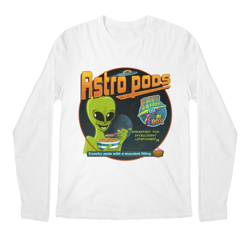 Astropods Men's Regular Longsleeve T-Shirt by ferg's Artist Shop