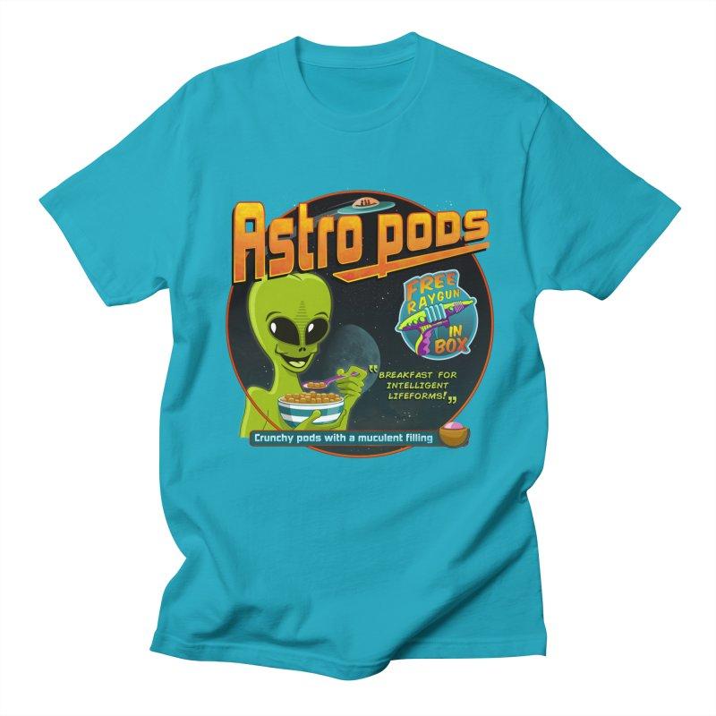 Astropods Men's Regular T-Shirt by ferg's Artist Shop