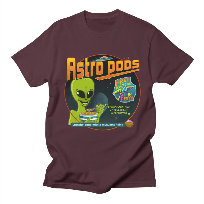 Astropods Men's Regular T-Shirt by ferg's Artist Shop