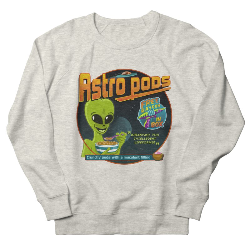 Astropods Women's French Terry Sweatshirt by ferg's Artist Shop