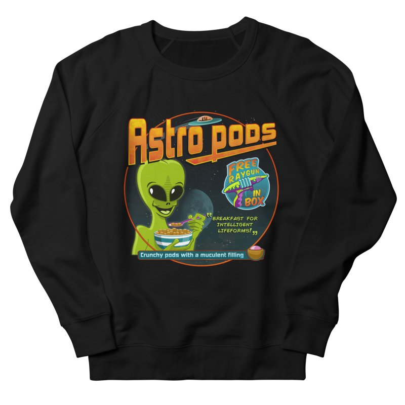 Astropods Men's French Terry Sweatshirt by ferg's Artist Shop