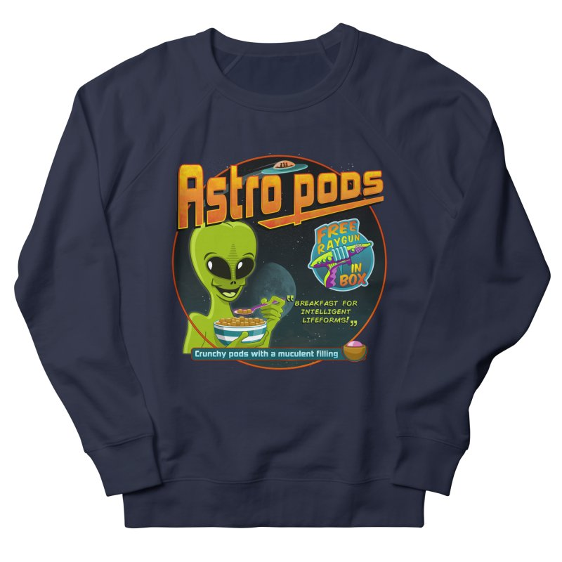 Astropods Men's French Terry Sweatshirt by ferg's Artist Shop
