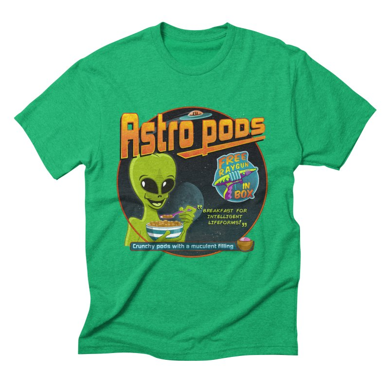 Astropods Men's Triblend T-shirt by ferg's Artist Shop