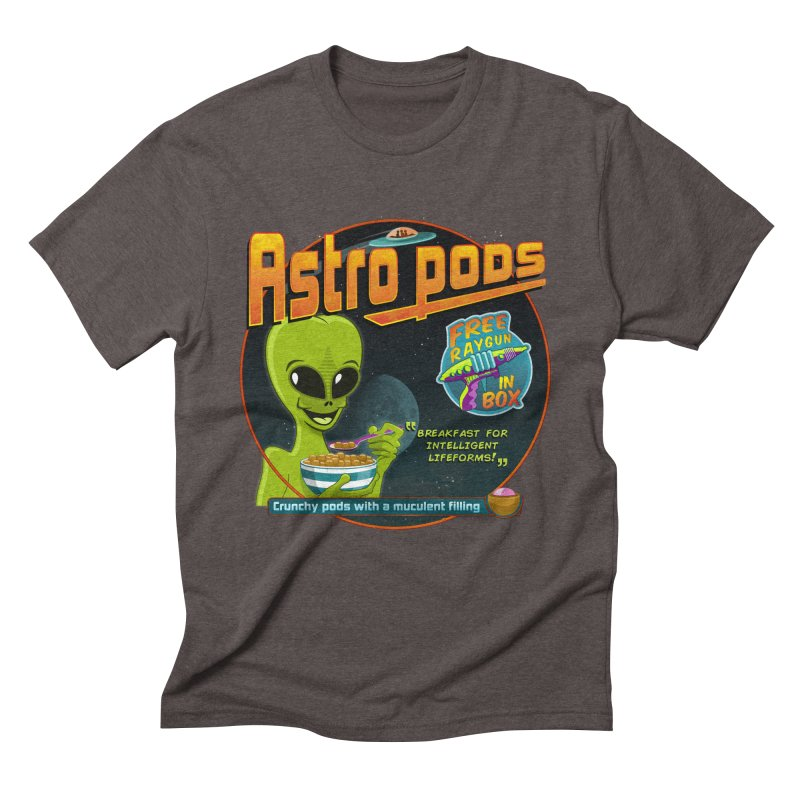 Astropods Men's Triblend T-Shirt by ferg's Artist Shop