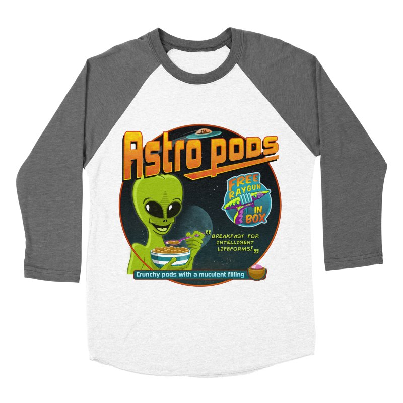 Astropods Women's Baseball Triblend Longsleeve T-Shirt by ferg's Artist Shop