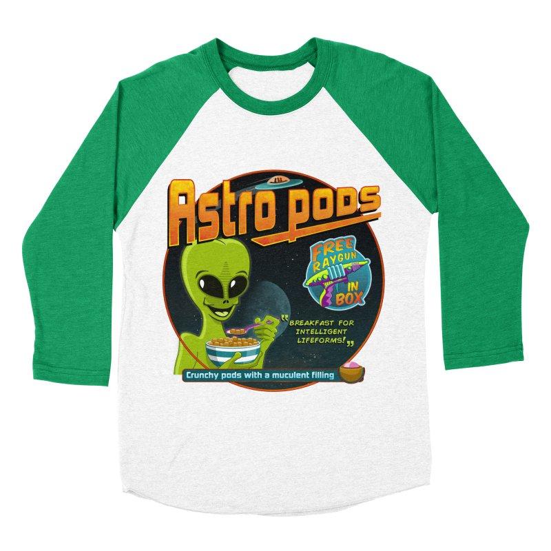 Astropods Women's Baseball Triblend T-Shirt by ferg's Artist Shop