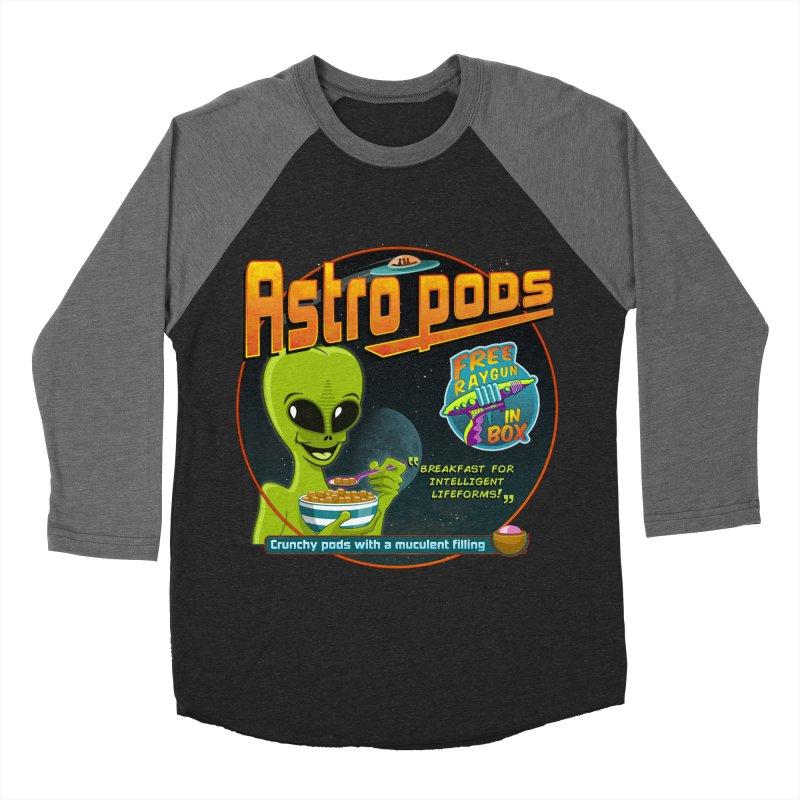 Astropods Women's Baseball Triblend Longsleeve T-Shirt by ferg's Artist Shop