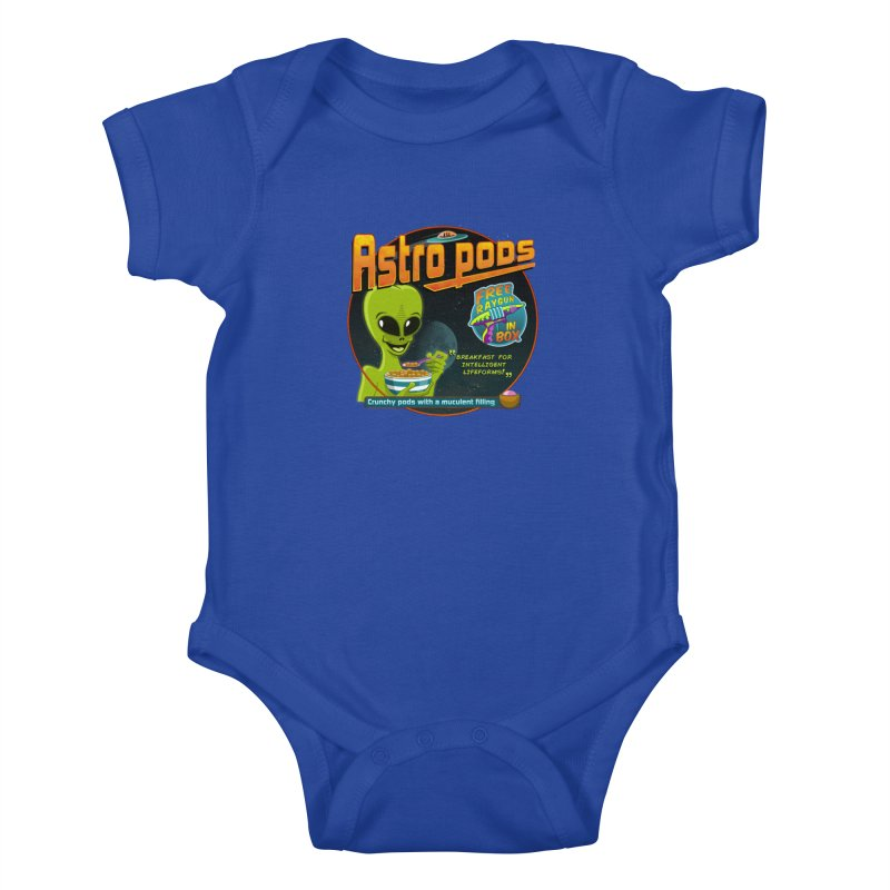 Astropods Kids Baby Bodysuit by ferg's Artist Shop