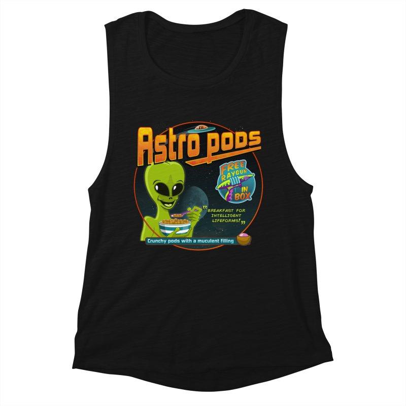 Astropods Women's Tank by ferg's Artist Shop