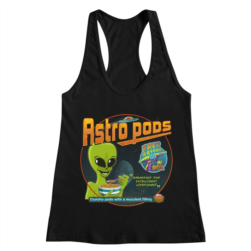 Astropods Women's Racerback Tank by ferg's Artist Shop