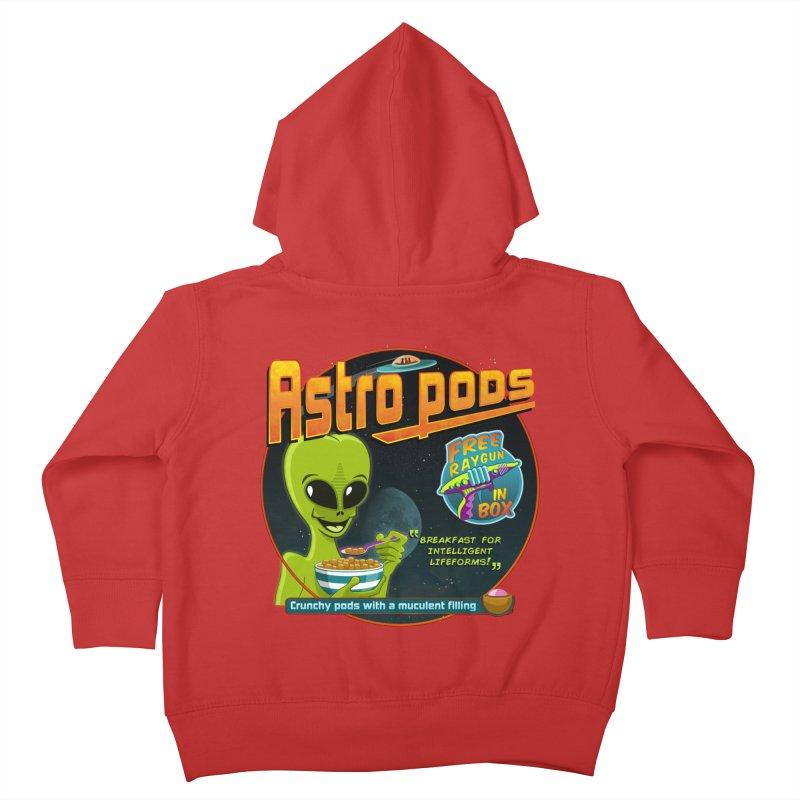 Astropods Kids Toddler Zip-Up Hoody by ferg's Artist Shop