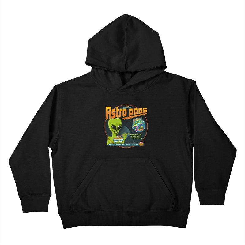 Astropods Kids Pullover Hoody by ferg's Artist Shop