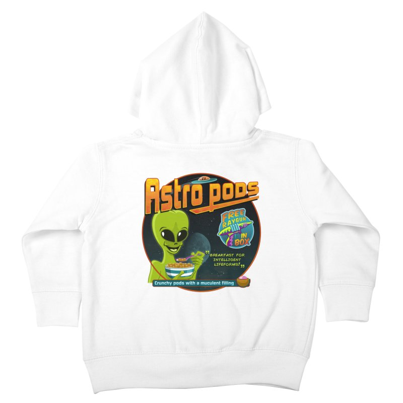 Astropods Kids Toddler Zip-Up Hoody by ferg's Artist Shop