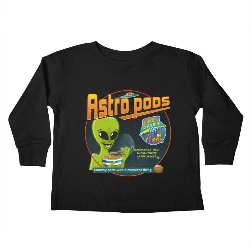 Astropods Kids Toddler Longsleeve T-Shirt by ferg's Artist Shop