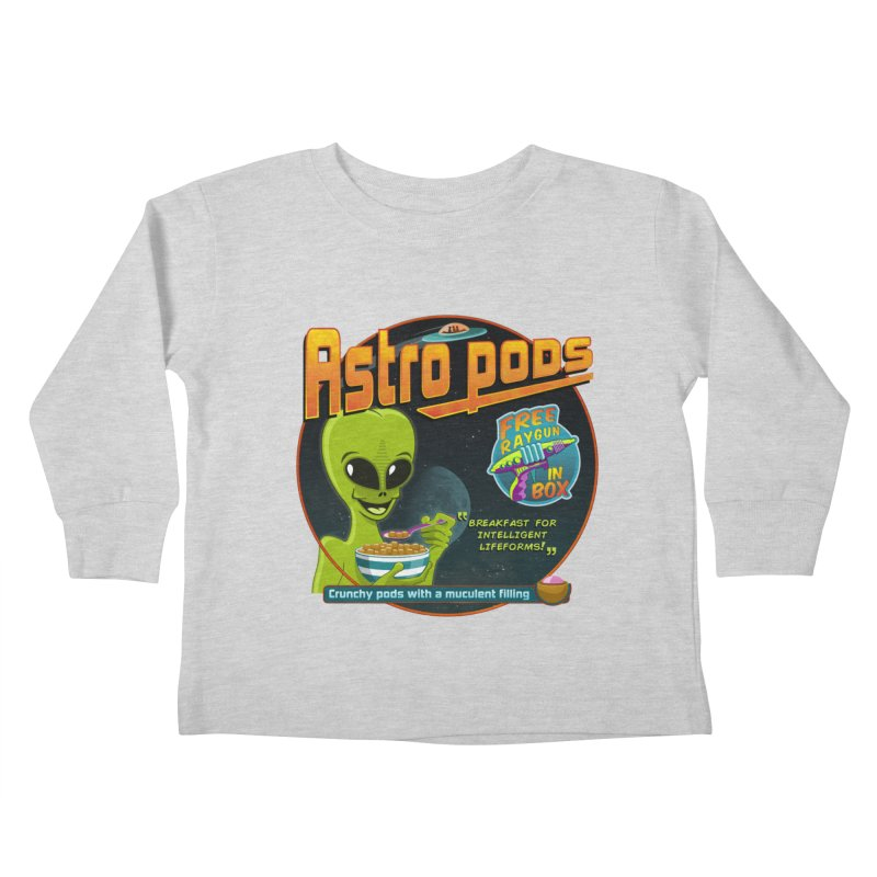 Astropods Kids Toddler Longsleeve T-Shirt by ferg's Artist Shop