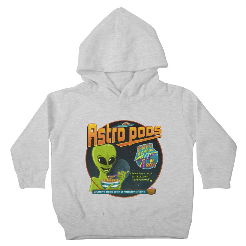 Astropods Kids Toddler Pullover Hoody by ferg's Artist Shop