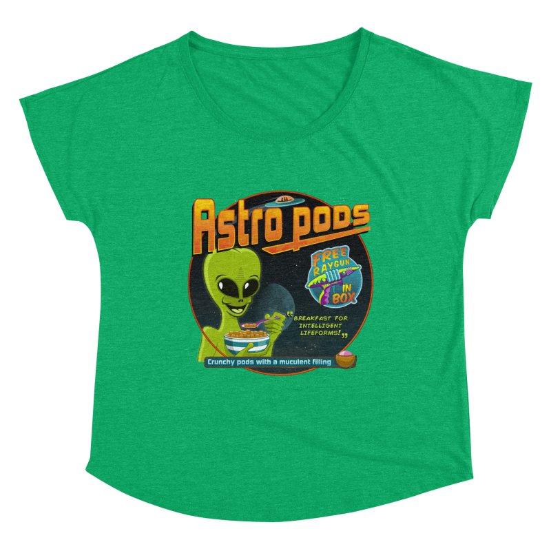 Astropods Women's Dolman Scoop Neck by ferg's Artist Shop